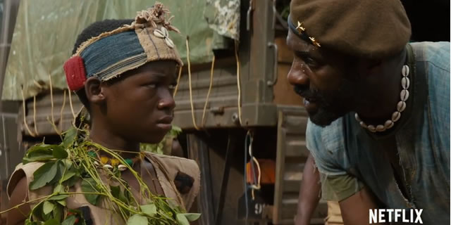 BEASTS OF NO NATION Nominated for  NAACP, SAG and Golden Globe Awards